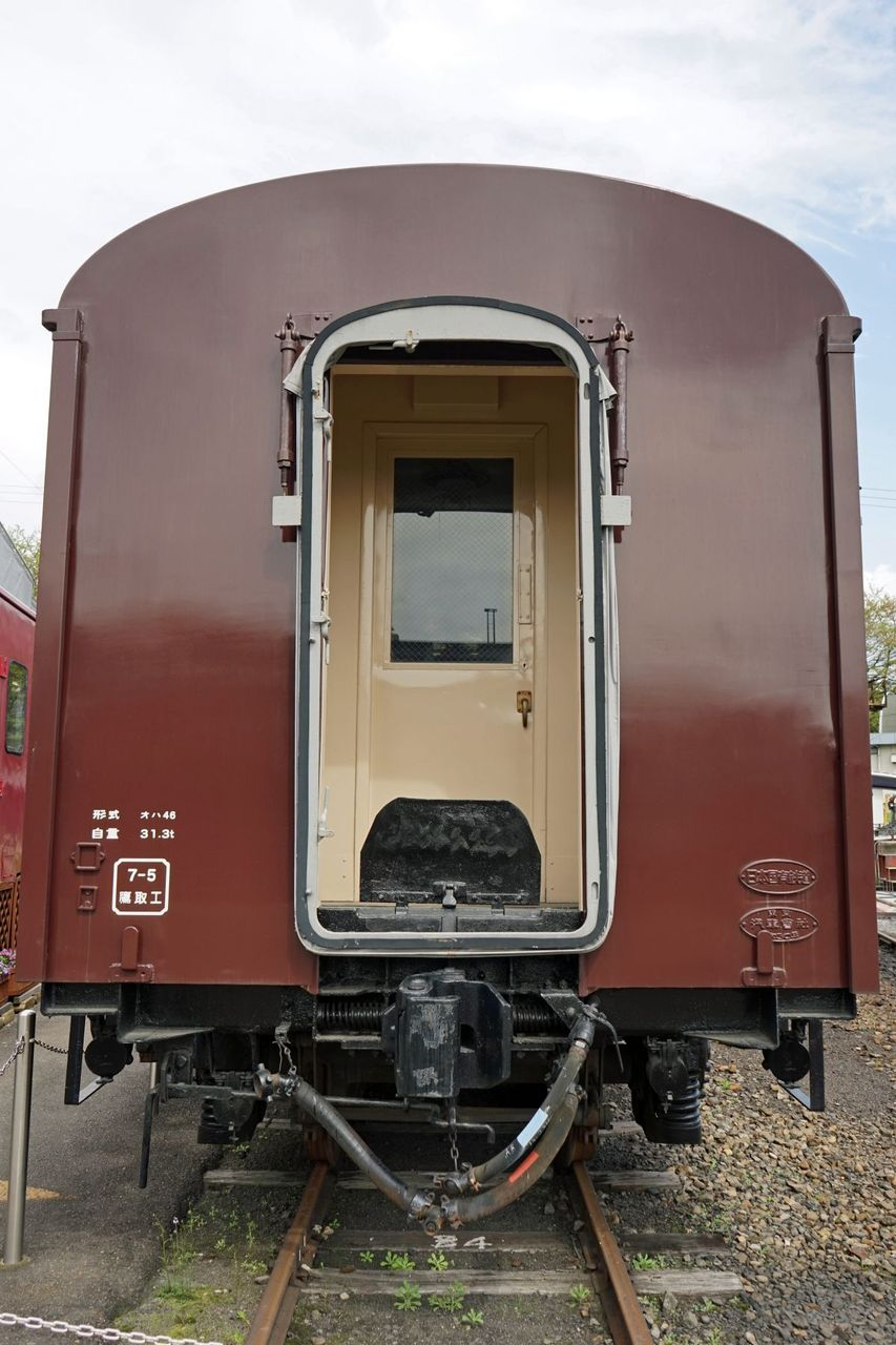 JR西日本 梅小路蒸気機関車館 その3 オハ46-13