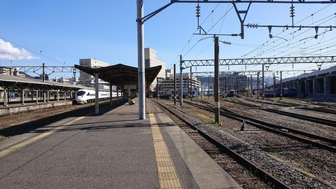 JR九州 さようなら「長崎駅地上ホーム」
