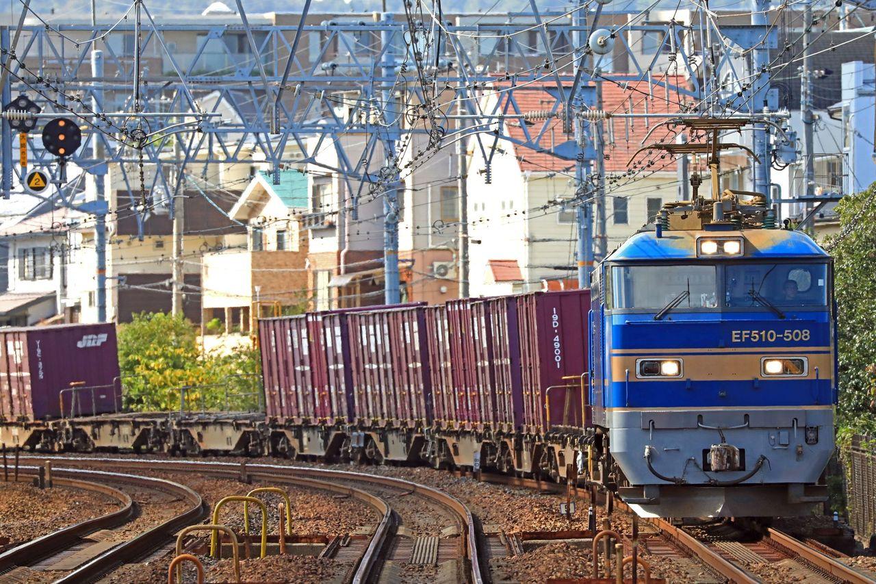 JR貨物 EF510-508号機 旧北斗星色