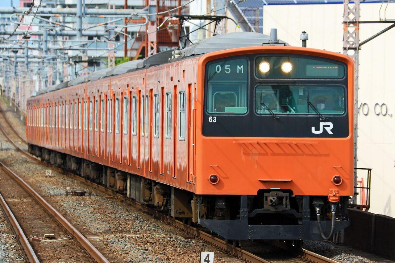 JR西日本 201系LB03編成