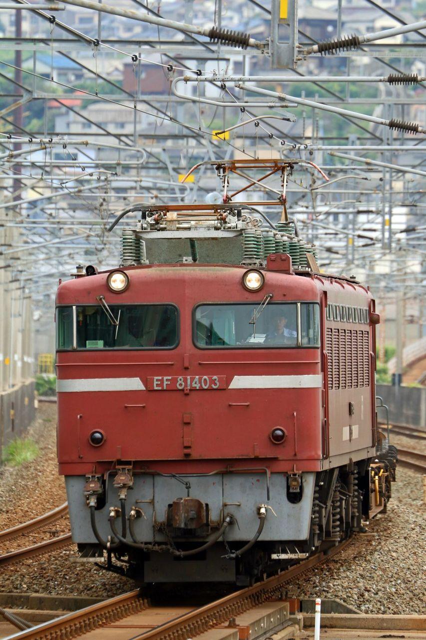 JR貨物 EF81-403号機