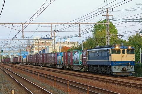 JR貨物 EF65-2101号機 国鉄特急色