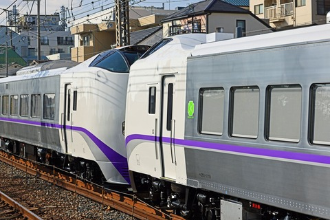JR北海道 キハ261系1000番台 ST1119+ST1219編成 甲種輸送 JR貨物 DE10-1743号機牽引