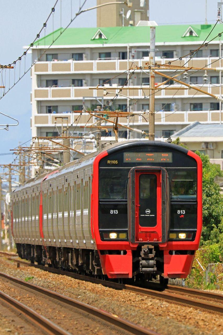 JR九州 813系1100番台Rm1105+200番台Rm206編成