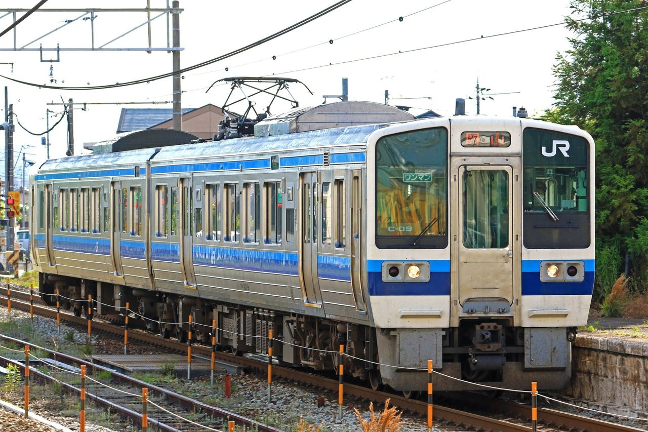 JR西日本 213系C09編成