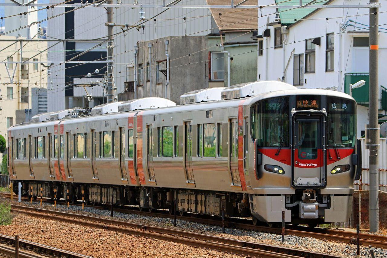 JR西日本 227系A09編成