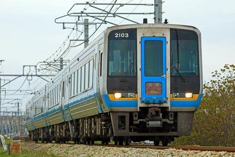 JR四国 2000系気動車「南風」