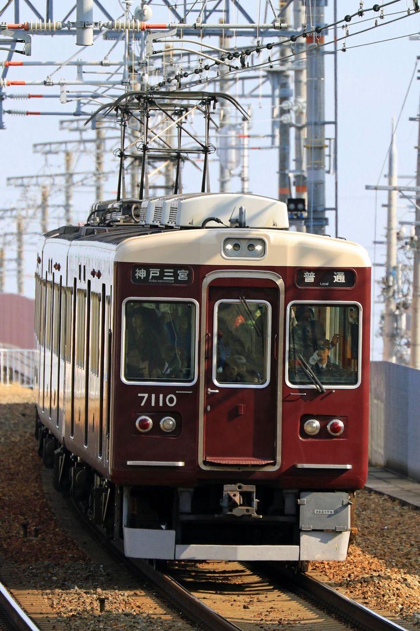 阪急電鉄 7000系7010F