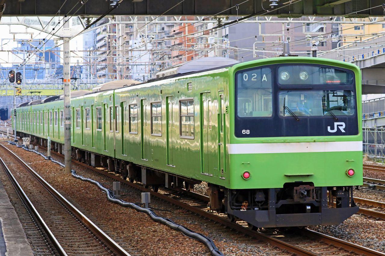 JR西日本 201系ND604編成