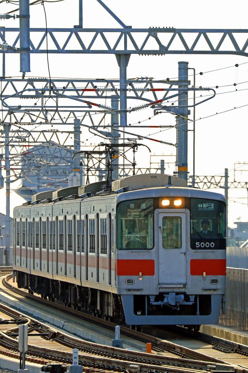 山陽電気鉄道 5000系5000F