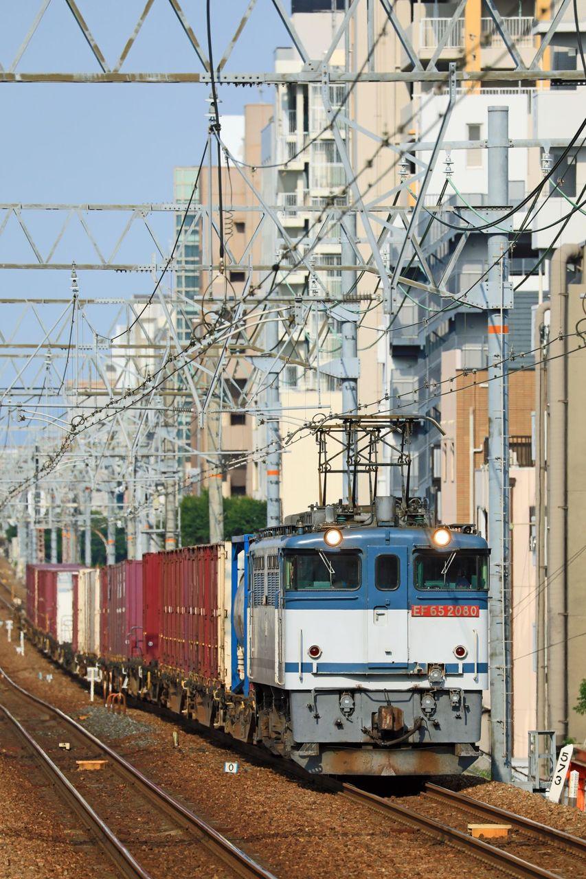 JR貨物 EF65-2080号機 二色更新色