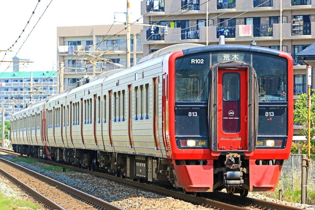 JR九州 813系100番台Rm102編成+200番台Rm202編成