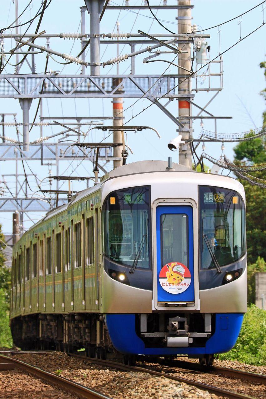 西日本鉄道 3000系3012F「ポケモントレイン」