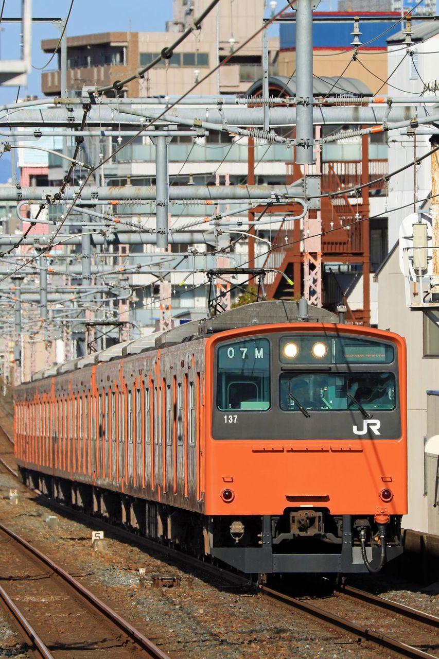 JR西日本 201系LB14編成