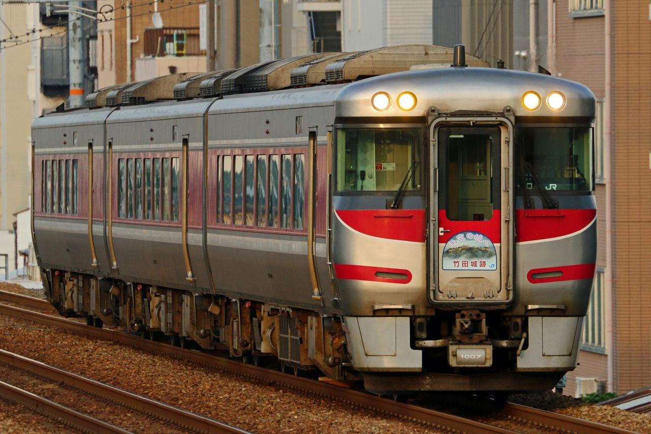 JR西日本 キハ189系 H7編成