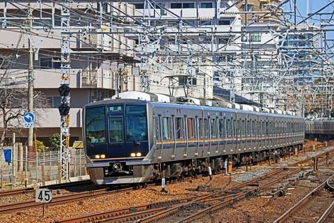JR西日本 321系D36編成 試運転