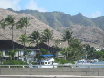 海岸の住宅