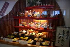 沖縄そば屋の外観