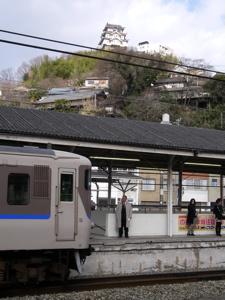 尾道駅ホーム