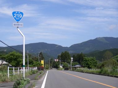 国道219号線
