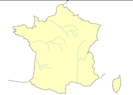 フランスその他白地図 [更新済み]