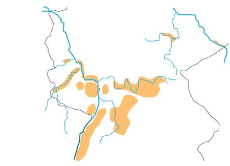 ドイツ白地図 [更新済み]