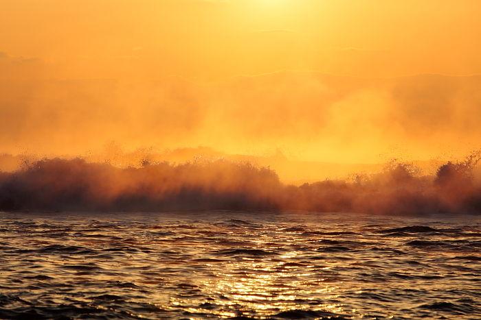 海霧:古座海岸