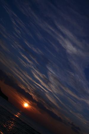 串本町の夕焼け