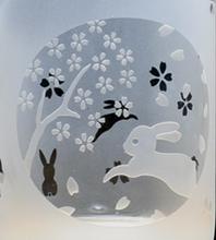 エッチンググラス:ウサギ-1