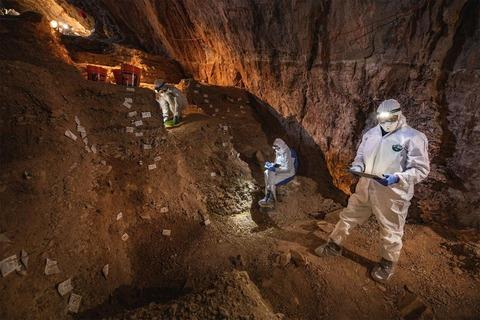 チキウイテ洞窟