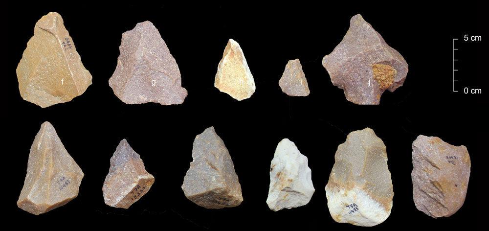 38.5~17.2万年前のインド南部...