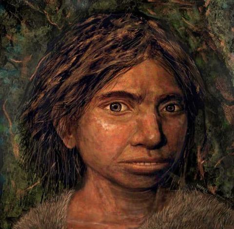 0デニーソヴァ人の顔の復元20191007