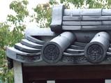 大須・總見寺の瓦