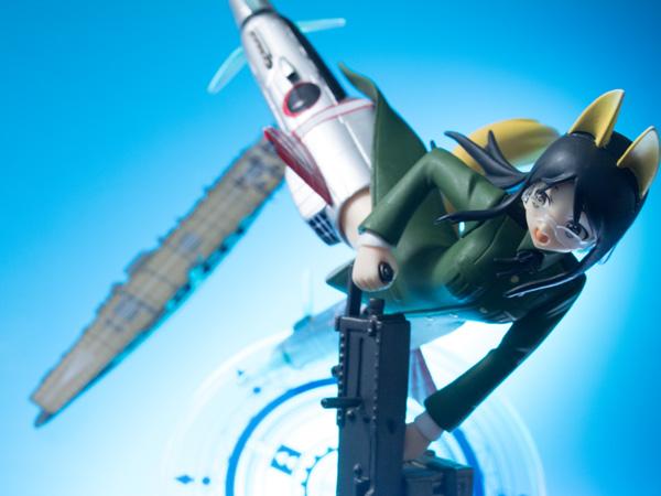 レビュー セガプライズ ストライクウィッチーズ2 HGフィギュア vol.3 諏訪天姫