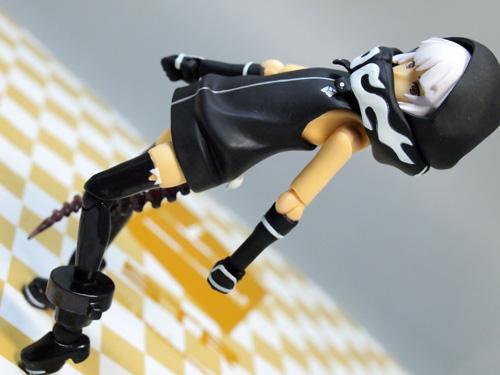 レビュー figma ストレングス(ブラック★ロックシューター)