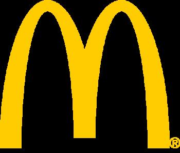マクドナルドのロゴは左右対称ではない