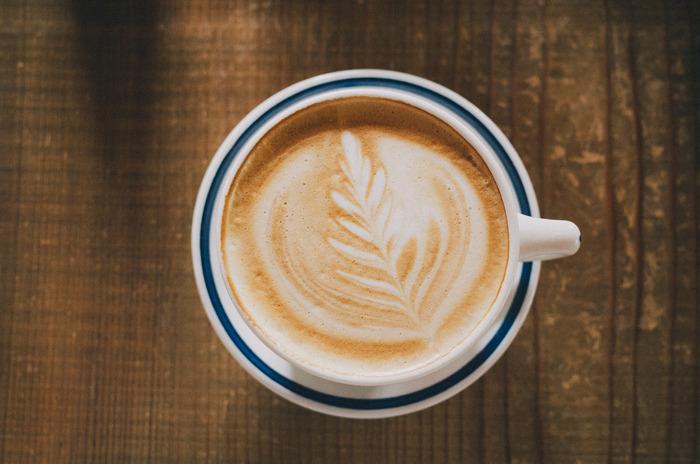 cafe la familleのカフェラテ