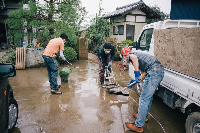 鬼怒川氾濫。洪水被害からの復興 その5