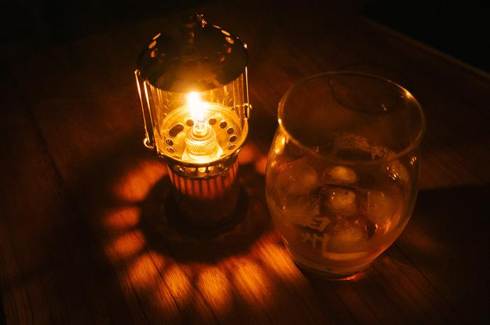 雪丘工房の灯油ランタン