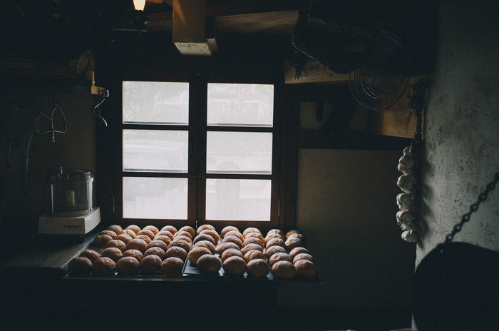 cafe la familleのパン