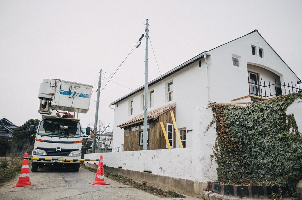 (旧)茨城の片隅でフランス生活電柱移設工事コメント