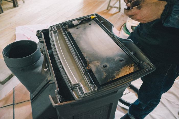 薪ストーブ『シェルバーン』のメンテナンスを『Goodrich stoves』に依頼してみた