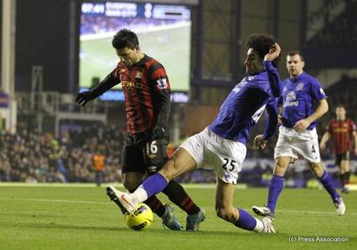 120131 vs Everton Lose