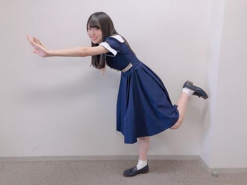【乃木坂46】賀喜遥香の腕が細すぎて心配・・・