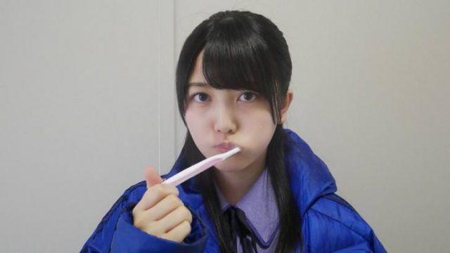 【乃木坂46】「ザンビ」公式ツイッターに歯磨き久保ちゃん(*´∀`*)
