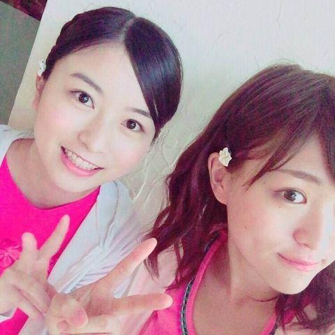 【乃木坂46】佐々木琴子の隣は、相武紗季…!?
