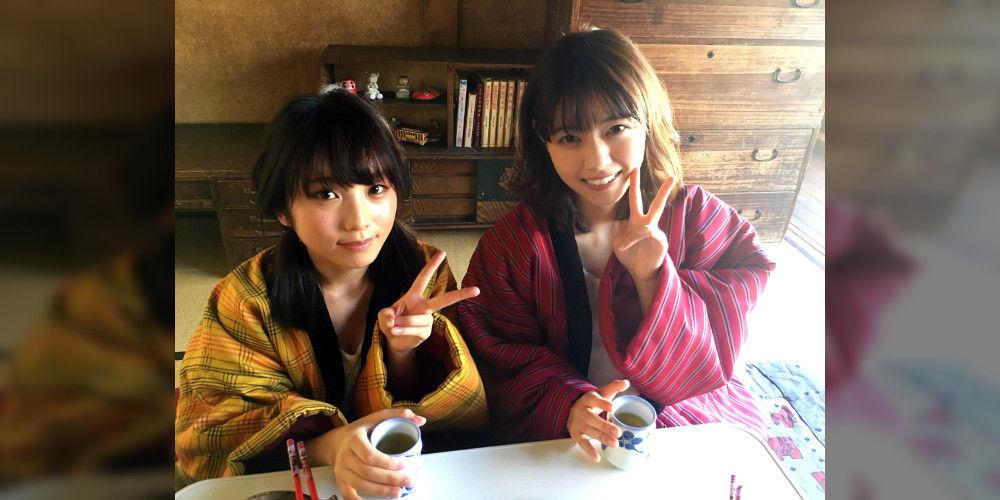 乃木坂46西野七瀬ちゃん・与田祐希ちゃんのBUBKAグラビアオフショット!