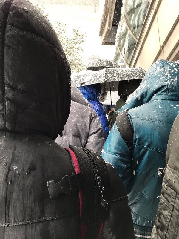 【乃木坂46】京都パルスプラザの雪がすごい