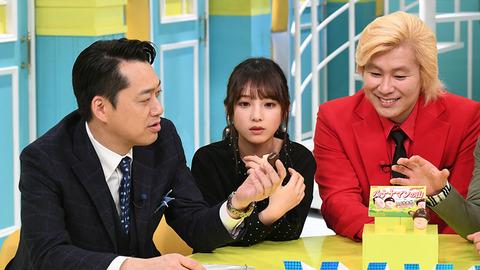 【乃木坂46】設楽とカズレーザーに挟まれる与田ちゃんw『バナナマンの山』!!??