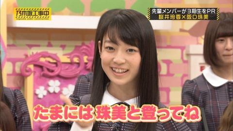 テレビ番組での阪口珠美